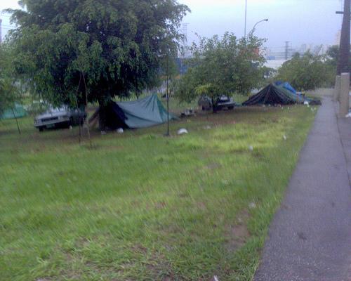 área verde à disposição