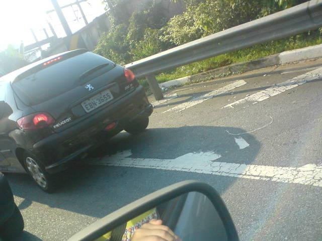 Desrespeito no trânsito