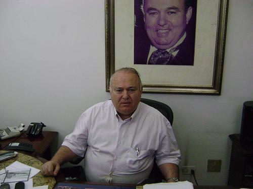 Baltazar é empresário em Mauá