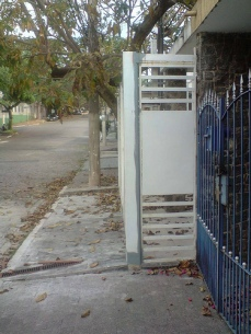Calçada-garagem