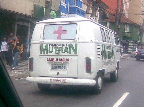 Ambulância do Mutran