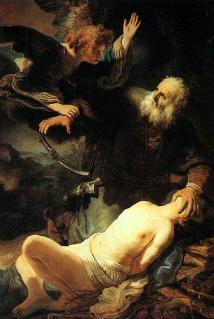 Sacríficio de Issac, Rembrandt