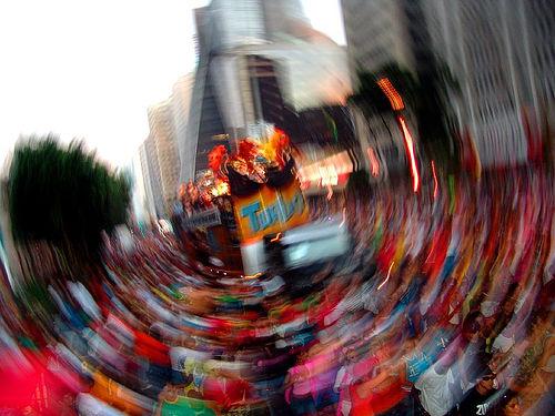 Foto da Parada do Orgulho Gay 2008, São Paulo, do álbum de Savaman, no Flickr