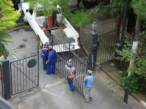 Rua interditada por moradores 1