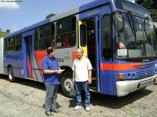 Admir, motorista de ônibus