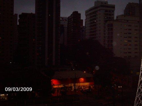 Noite na tarde de São Paulo