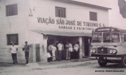 Viação São José, nos anos 60
