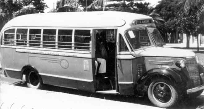 FOTO 3- ônibus de linha intermunicipal entre Santo André e São Paulo em 1938