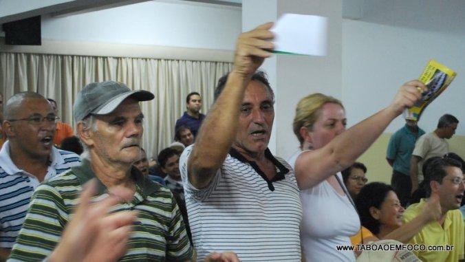 Protesto na Câmara Foto: Allan dos Reis/Taboão em Foco
