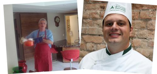 Marcelo adora cozinha; Daniel faz a cozinha adorável