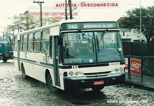 FOTO 10 - Empresa de ônibus com pintura padronizada do sistema municipalizado