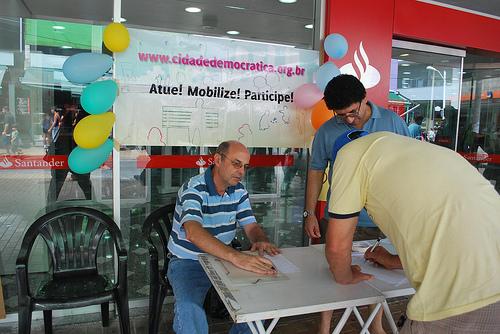 Abaixo-assinado em Jundiaí