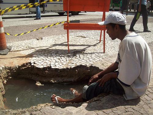 Banheira pública