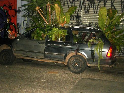 Carro Árvore