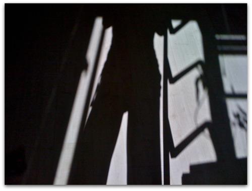De sombra