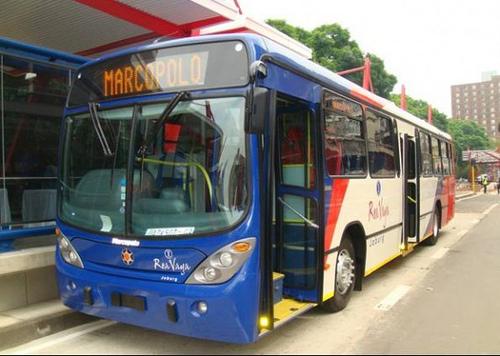 Ônibus Marcopolo na Copa