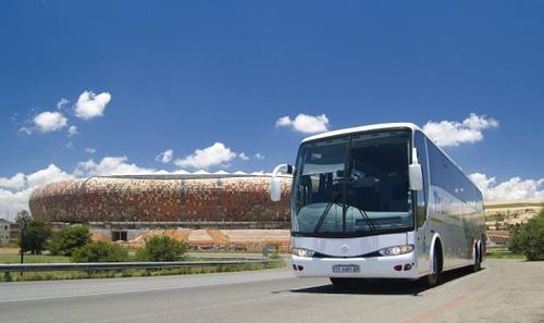 Ônibus brasileiro na Copa