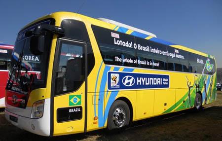 Ônibus do Brasil na Copa