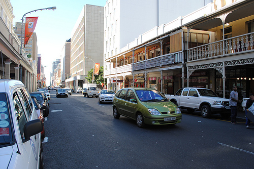 Long Street na Cidade do Cabo
