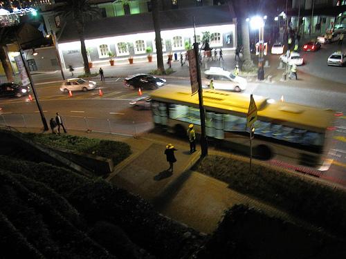 ônibus na Cidade do Cabo