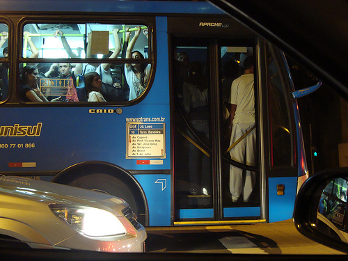 Ônibus na Nove de Julho