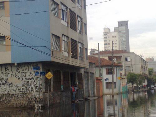 Enchente no Bom Retiro