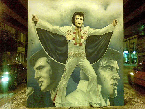 Elvis no Minhocão