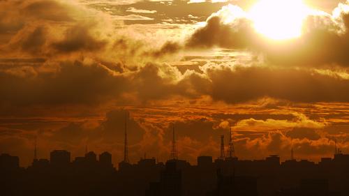 Céu em São Paulo