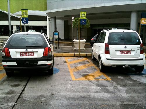 Ponto de táxi ilegal