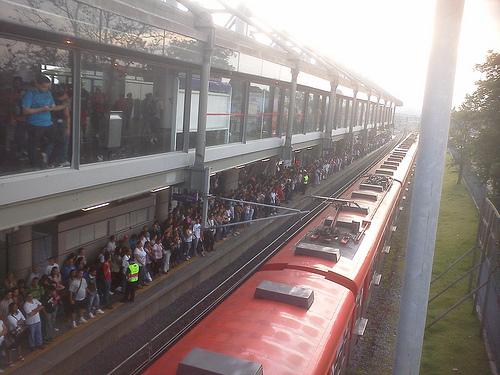 Congestionamento na CPTM