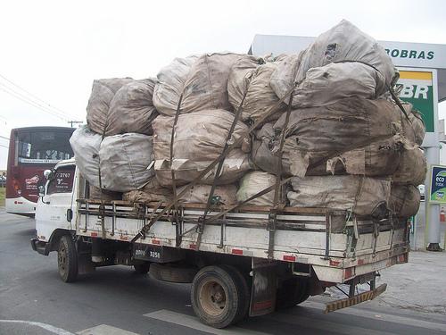 Transporte reciclável