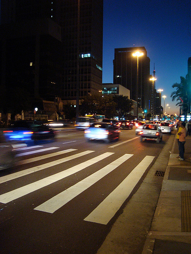 Paulista à noite