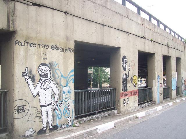 Arte política,político boa vida