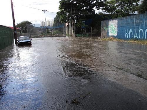 Corrego Una inunda