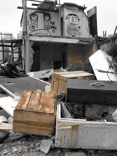 Demolição da favela Jardim Edite