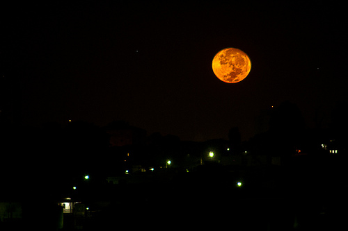 A lua de São Paulo