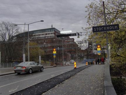 Pedágio urbano em Estocolmo