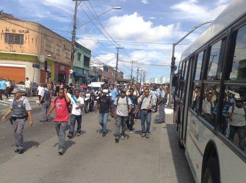 Protesto no M'Boi Mirim
