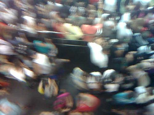 Plataforma no metro Barra Funda