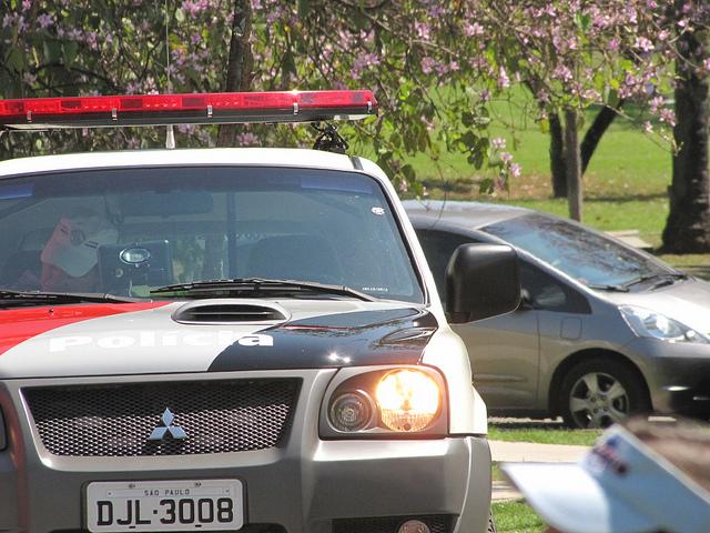 Polícia no SOS Morumbi
