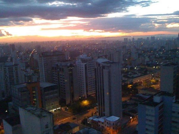 Vista desde a Vila Mariana