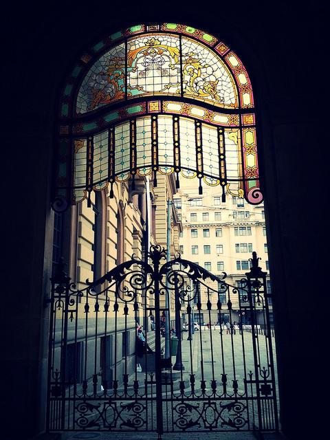 Portão do Teatro Municipal