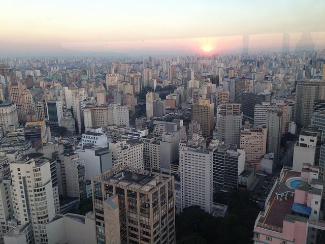 São Paulo no Terraço Itália