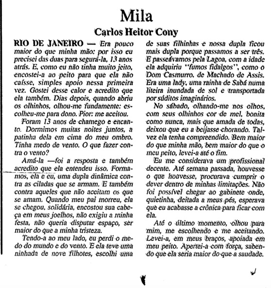 Mila Cony