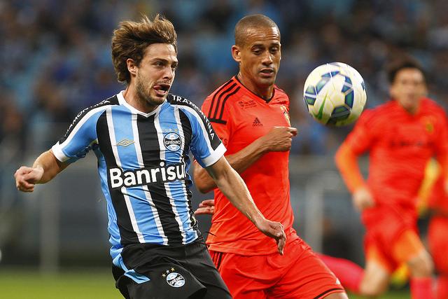 Maxi está de volta ao time (Foto Grêmio Oficial no Flickr)
