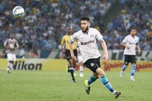 Marcelo Oliveira, assim como o time, jogou para o gasto no Maracanã (foto: site www.gremio.net)