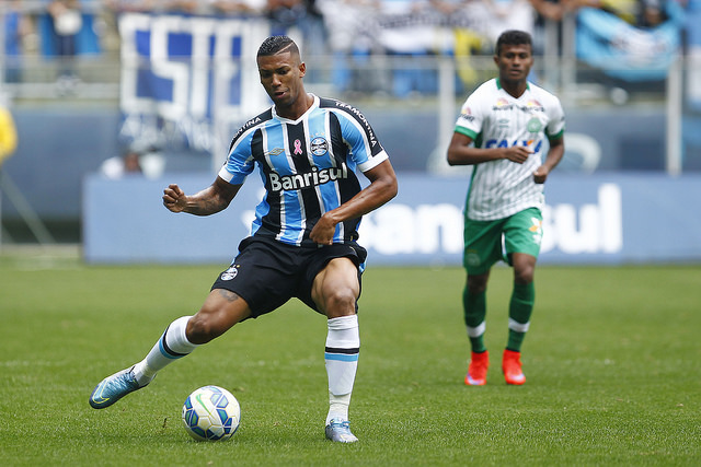 Walace é um dos novos talentos em busca de experiência (foto do álbum do Grêmio Oficial no Flickr)