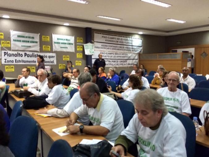 Participação popular em audiência pública (Foto: Regina Monteiro/arquiteta)