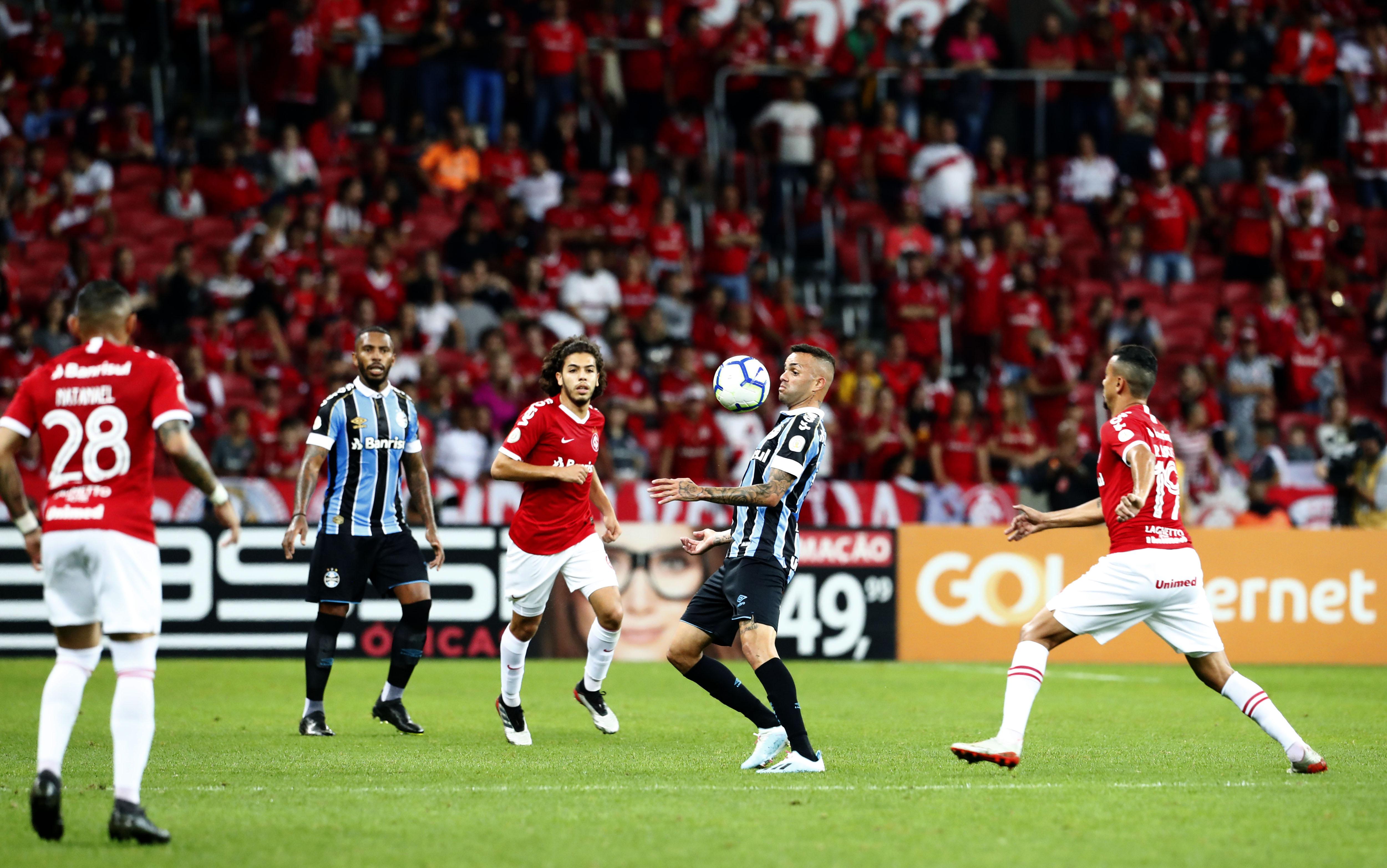 Campeonato Brasileiro de Futebol Série A - S.C. Internacional X Grêmio Foot-Ball Porto Alegrense