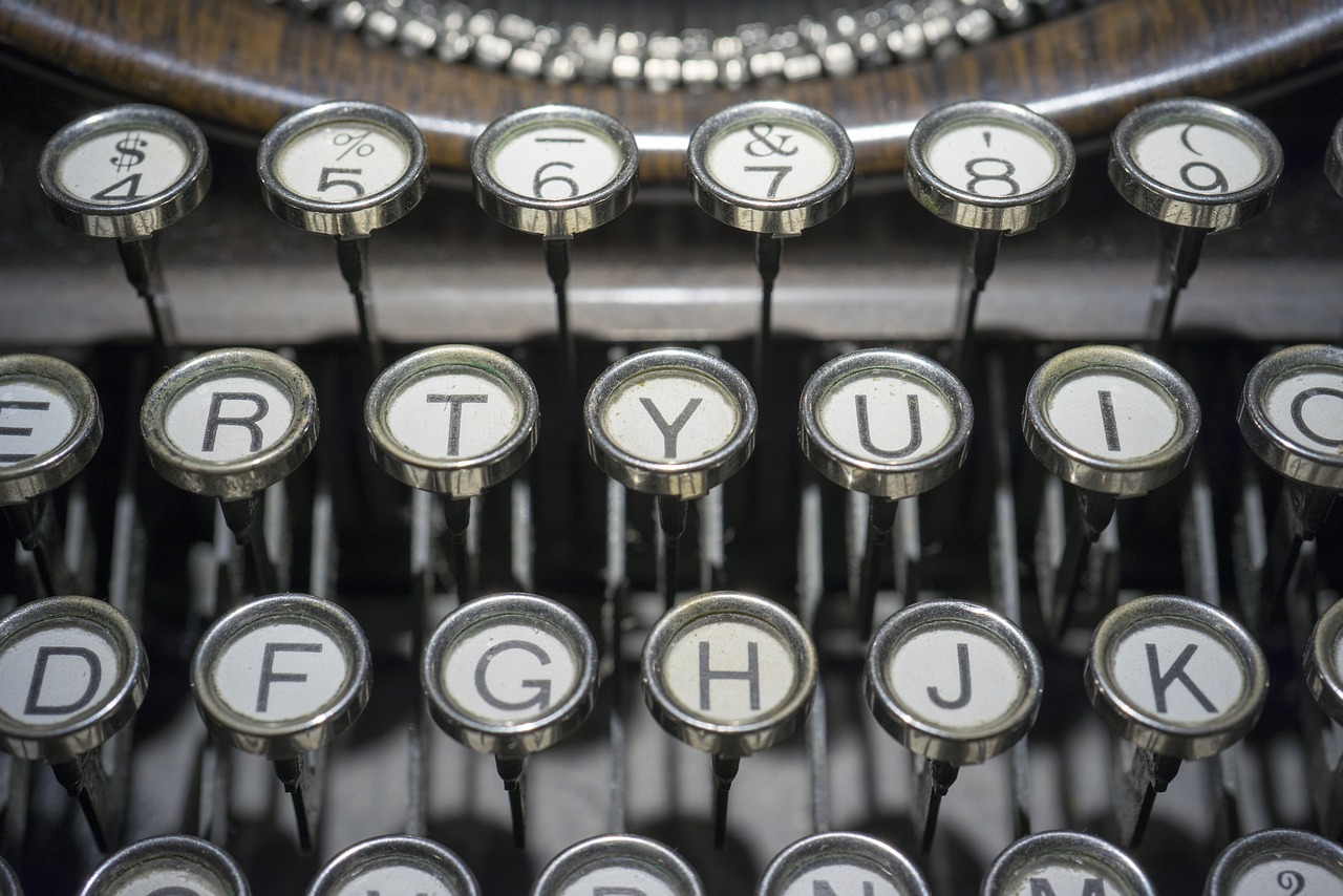 typewriter-1814675_1280